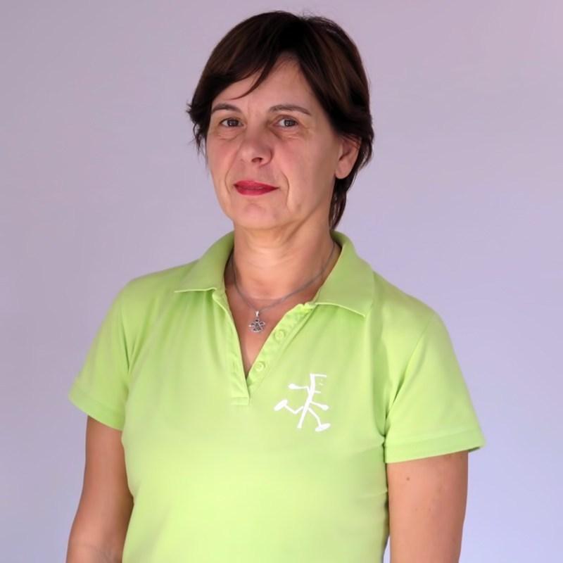 Gordana Poščić - instruktorica na tečaju PNF3